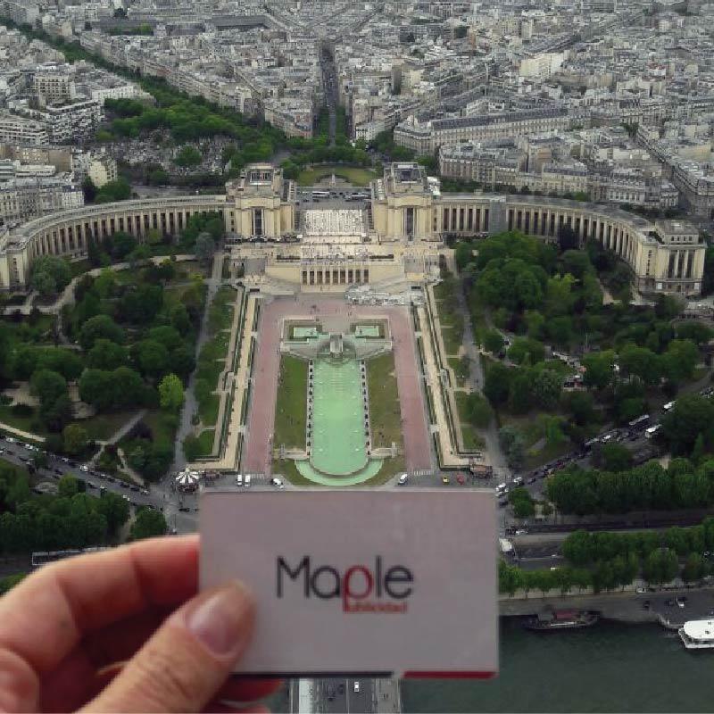 París desde la Torre Eifel – FRA
